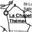 MAP OF THE AREA SURROUNDING LA CHAPELLE-THÉMER